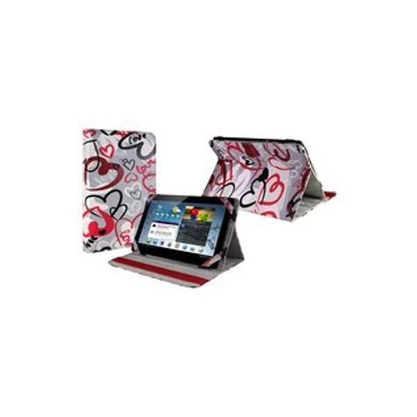 E-vitta crazy hearts funda tipo libro con stand para tablet 9.7''