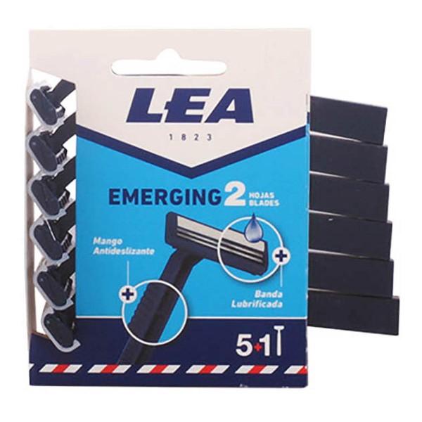 Lea emerging cuchillas desechables 2 hojas