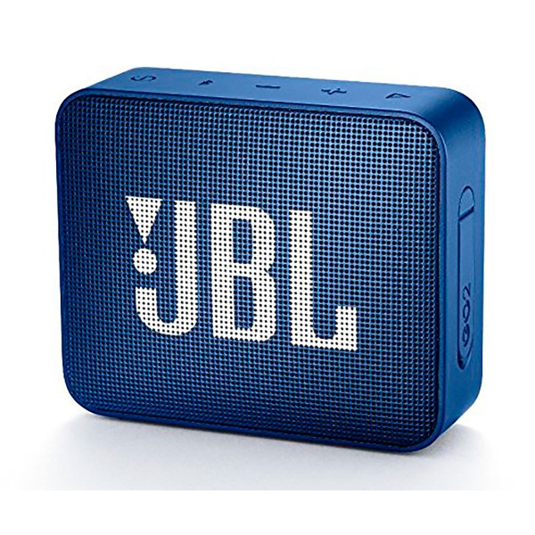 Jbl go2 azul altavoz inalámbrico portátil 3w rms bluetooth aux micrófono manos libres impermeable ipx7