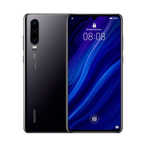Huawei p30 negro móvil 4g dual sim 6.1'' oled fhd+/8core/128gb/6gb ram/40mp+16mp+8mp leica/32mp