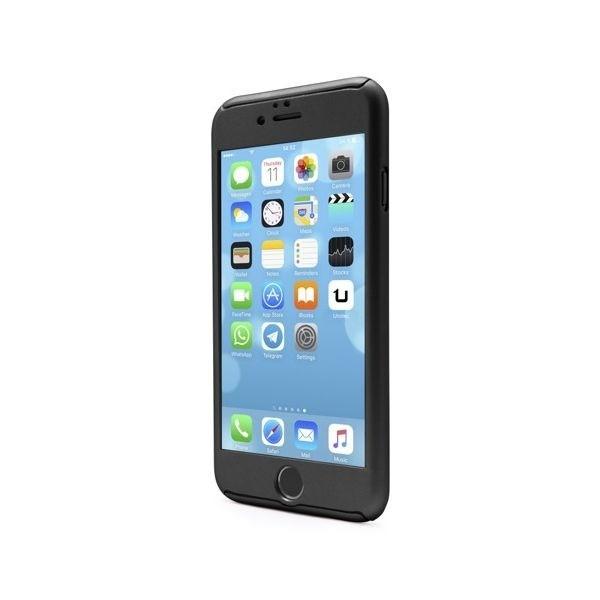 Funda Full Protect negro para iPhone 6/6S Plus
