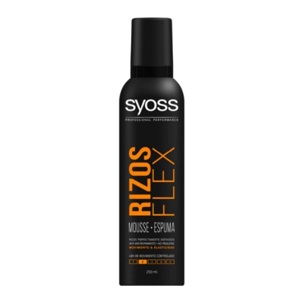 Syoss Rizos Flex Mousse 250 ml
