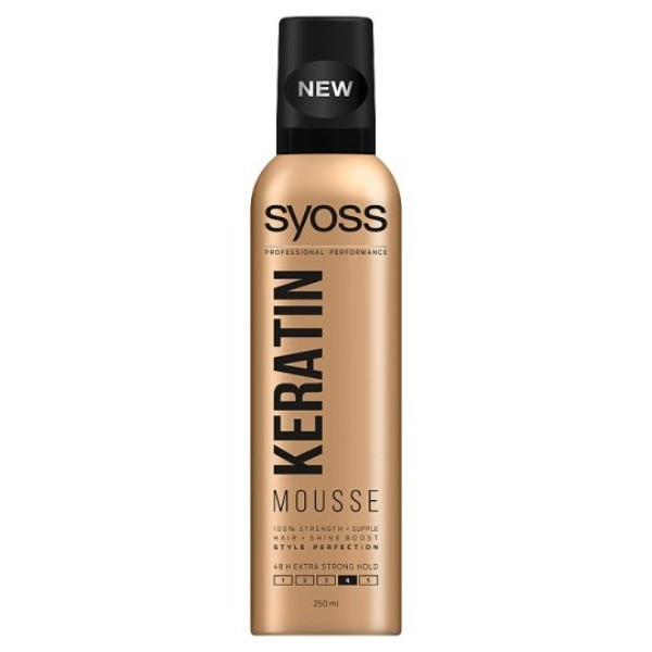 Syoss Keratin Mousse 250 ml