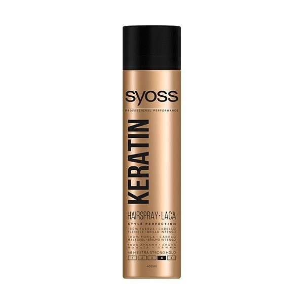Syoss Keratin Laca 400 ml