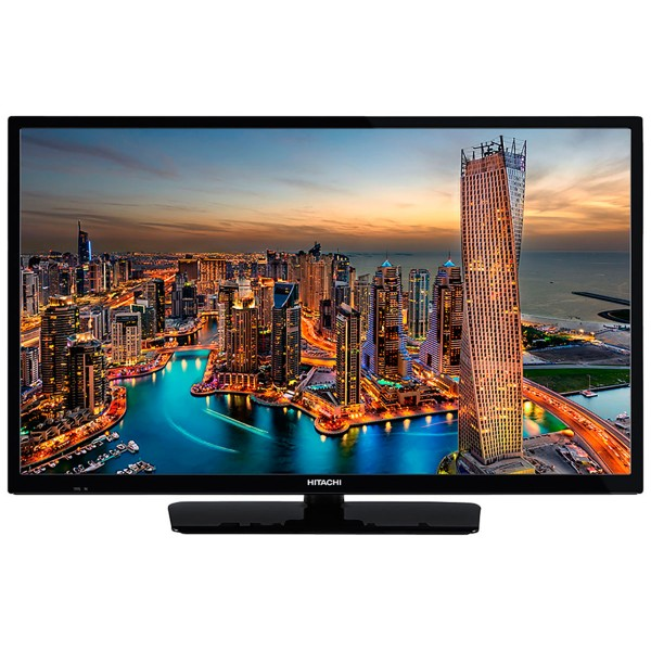 Hitachi 24he2100 televisor 24'' lcd direct led hd ready smart tv 200hz hdmi usb grabador y reproductor multimedia