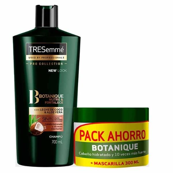 TRESemmé champú 700 ml + Mascarilla 300 ml Aceite Coco & Aloe VeraPACK AHORRO