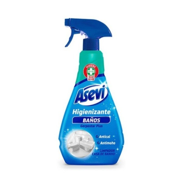Asevi limpiador higienizante Baños 750 ml