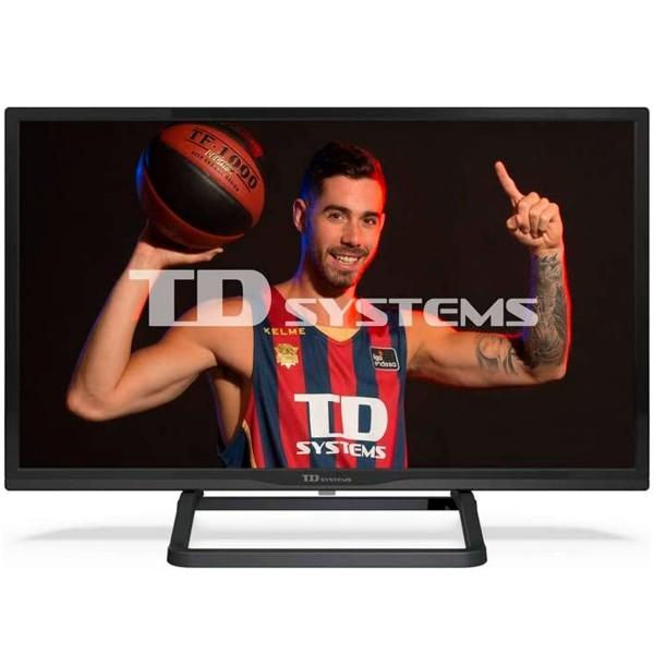 Td systems k24dlx11hs televisor 24'' led smart tv hd ready hdmi usb ci+ dolby digital plus