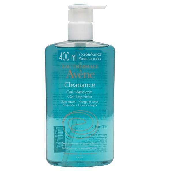 AVENE CLEANANCE GEL LIMPIADOR 400 ML PROMO