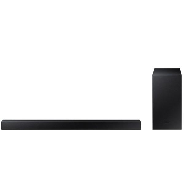 Samsung hw-a450/zf barra de sonido 2.1 300w bluetooth con modo juego y subwoofer inalámbrico