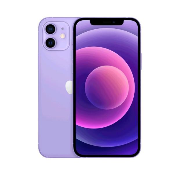 "Apple iphone 12 purple 5g/a14 bionic/6gb/128gb/6.1"" oled super retina xdr/dual sim"